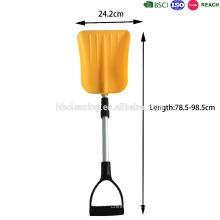 Высокое качество Складная пластиковая лопата для снега с телескопической ручкой