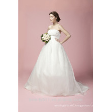 Ball Gown Sweetheart Court Train Tulle Wedding Dress A27801