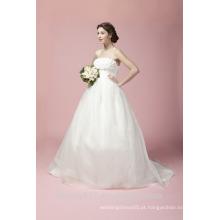 Vestido de noiva Sweetheart Court Train Vestido de noiva em Tulle A27801