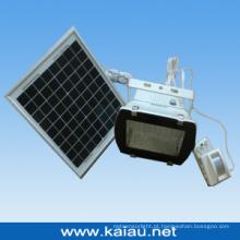 10W Solar Panel LED Sensor Floodlight