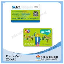 2016 Cartões plásticos do projeto novo com PVC para a sociedade do VIP do clube da saúde