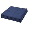 Micro Glass Bead Travel Dark Blue Weighted Blanket