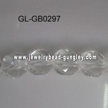 Grânulos de vidro de torção