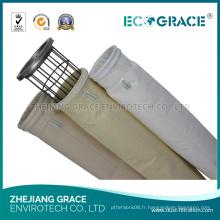 Filtre à filtre à cendres à membrane à PTFE à haute efficacité efficace