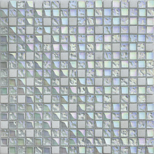 8мм квадратная восточная белая мраморная мозаика