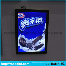 Rounded Corner Design Wall Mounted Magnetic LED Light Box