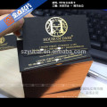 Letterpress gedruckt Luxus Papier recycelt Visitenkarte Drucker