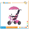 EVA tyre girl style baby tricycles with basket