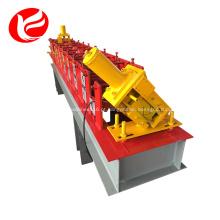 C u estrutura de quadro rolo dá forma à máquina