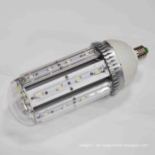 Aluminium e40 führte Mais Licht e40 LED Straßenlaterne 30W-33W