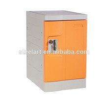 ABS material orange color cloth storage plastic beach safe box