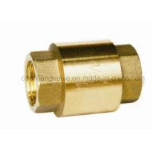 High Quality Brass Spring Vertical Check Valve (H410)