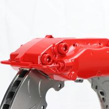 Sistema de freio de alta qualidade do disco de freio rotor 330 * 28mm para Volkswagen Golf 6 WT-f40 vermelho kit de freio de corrida