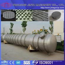 Usine de matériel de distillation de tour de colonne d'eau usée pour déchets fabriquée en Chine