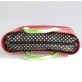 Custom Obag Dots Canvas Inner Bags PU handle