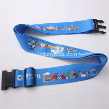 Luggage Belt Strap With Release Buckle