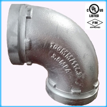 UL Listed & FM Approved 90 Degree Grooved Elbow