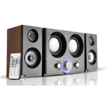 2.1 Multimedia Home Speaker with USB,SD,FM,Remote Control