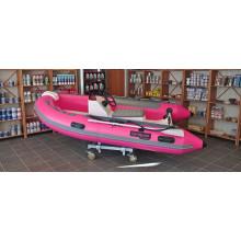 Top course de canot pneumatique à coque rigide bateaux RIB330 avec console