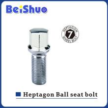 M14 * 1.5 Parafuso do assento da esfera Heptagon