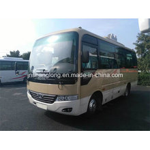 China 6,6 m Euro 3 Rhd Bus com 20-26 assentos (tipo Coaster)