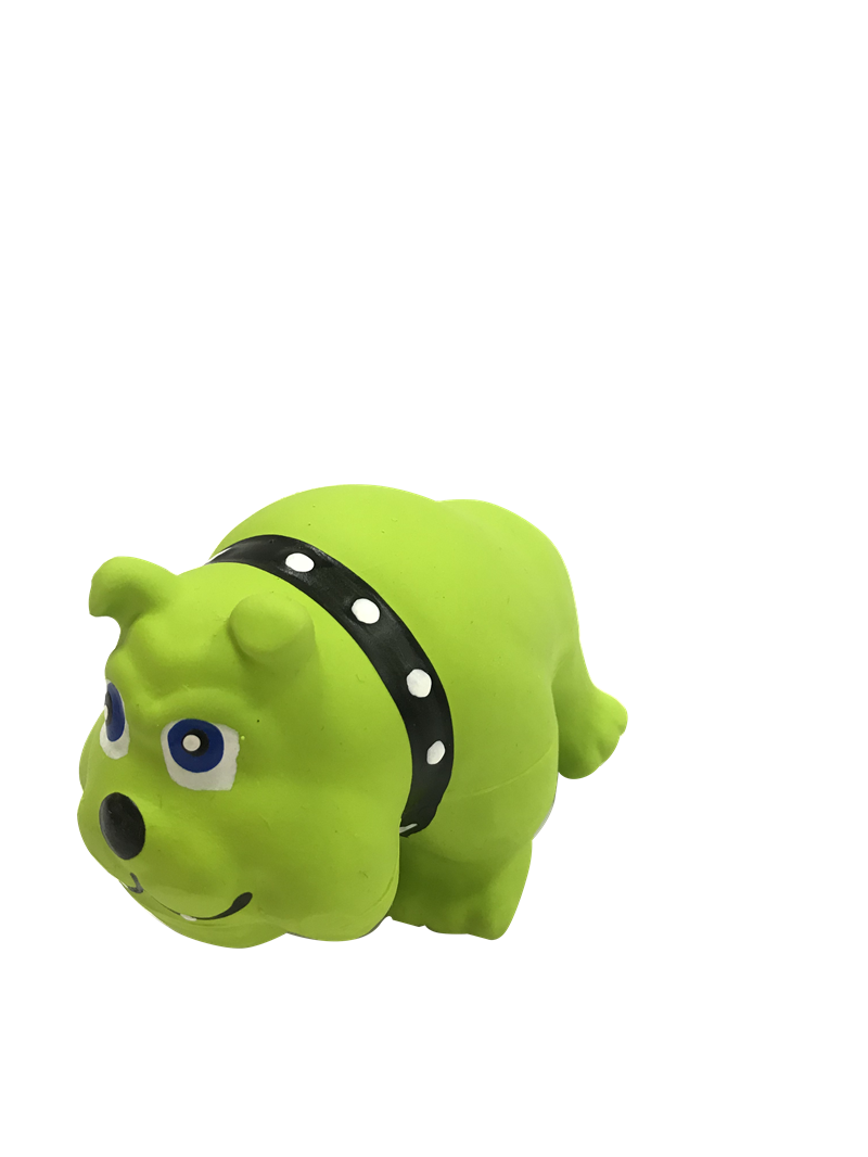 Plastic Green Toy For Dog