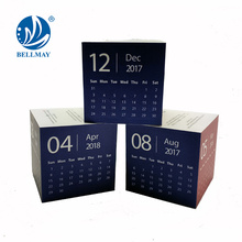 Hot 3pcs Calendar cube with magnet promotin magic cube weekly cube calendar