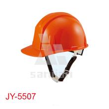 Cascos de seguridad baratos de plástico de los trabajadores Jy-5507