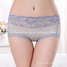 Sexy Woman Panty Seamless Modal With Lace Hot Sexy Modal Lady Panty Comfortable 8 Colors Sex Underwear Woman