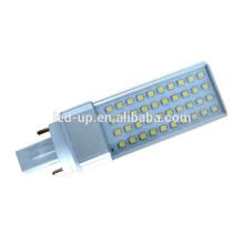 2 pins 4 pins 110V-240V 120 degree SMD led bulb 8w g24 lights