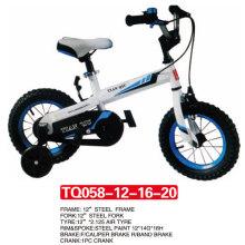 Chegada nova de 12 polegadas da bicicleta original das crianças do estilo