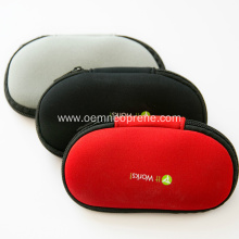 Logo artwork printed neoprene glasses pouch for sale