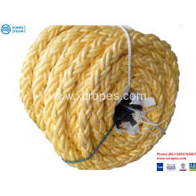 China Mixed composite polyester braid 8-strand ropes