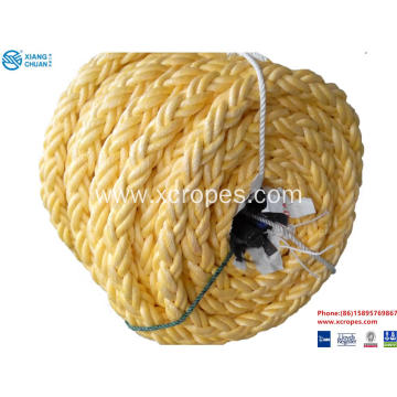 Professional China for Mixed Rope China Mixed composite polyester braid 8-strand ropes supply to Swaziland Manufacturers