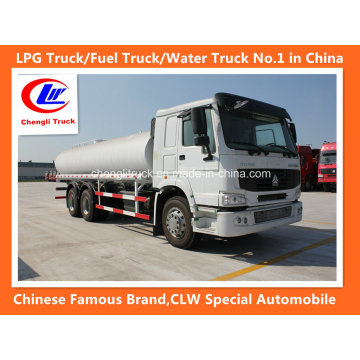 Camión cisterna de combustible Sinotruk HOWO 6X4 266HP