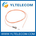 FC E2000/MU Multimode Fiber Optic Pigtails gelb PVC LSZH Kabel