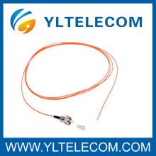 ФК E2000/MU многомодового волоконно оптические косички желтый кабель LSZH ПВХ