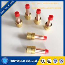 45v24 lente de gas de la antorcha de la soldadura del argón 45v25 de wp18 / wp26 arma de soldadura