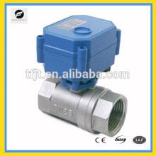 electrical motorized ball valve 5v 6v 12v 24v 110v 220v for chilled water, water heater, water control