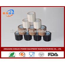 Impermeável marrom ptfe fita adesiva fita de fibra de vidro