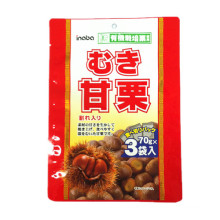 Plastic 3 Sides Seal Chestnuts Packaging Bag