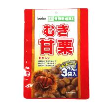Plástico 3 Sides Seal Chestnuts Embalagem Bag