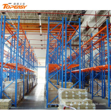 heavy duty warehouse storage metal double-deep pallet rack