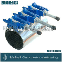 Stainless Steel Pipe Repair Clamp with Ductile Iron Band
