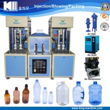 Máquina que sopla de la botella semiautomática del nuevo diseño 2017 en China
