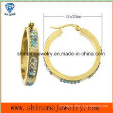 Jóias do corpo da moda Jóias Stud Earrings Stainless Steel (ERS6939)