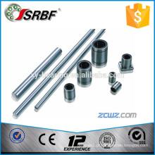 China fornecedor de haste de eixo de aço cromado 40mm * 1900mm de comprimento, usado com LMF40UU