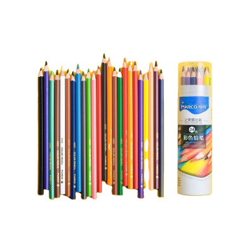 Andstal 24 Coloring Oil Pastel Colored Pencils Set  Drawing Color  Professional for Art School Supplies