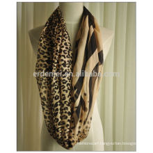 women cheap polyester fashion yong tube scarf
