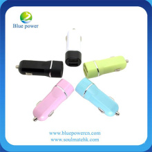 Lastest Design Spring USB Car Chargers 5V 2.4A/4.8A Hot Selling Car Charger 12V Universal Car Charger